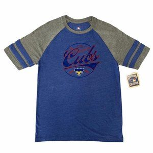 "Chicago Cubs ""CHI"" Retro Raglan Sleeve T-Shirt"